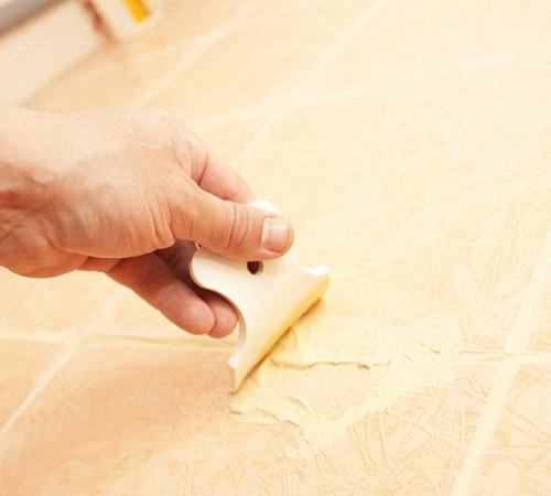 Как очистить межплиточные швы на полу
