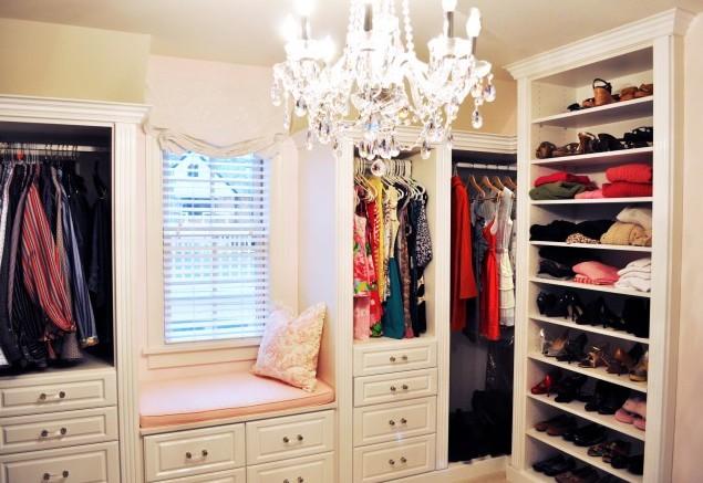 дизайн гардеробной комнаты 3