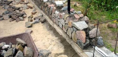 Как сделать раствор для кладки камня цементный паутинка бетон