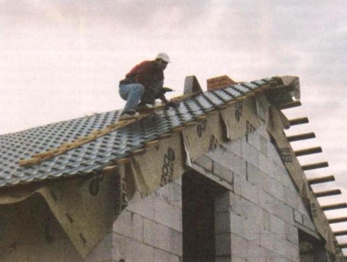 Как сделать двухскатную крышу Строительный портал