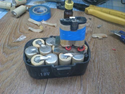 Датчик температуры аккумулятора шуруповерта